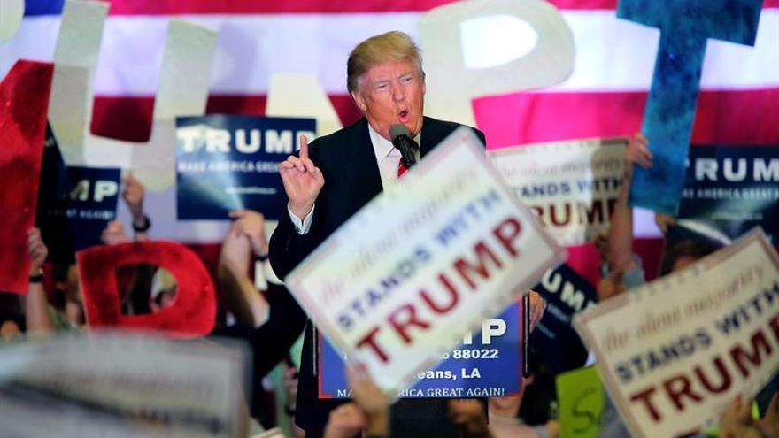 Trump en un mitin en Nueva Orleans, Luisiana, el 4 de marzo.