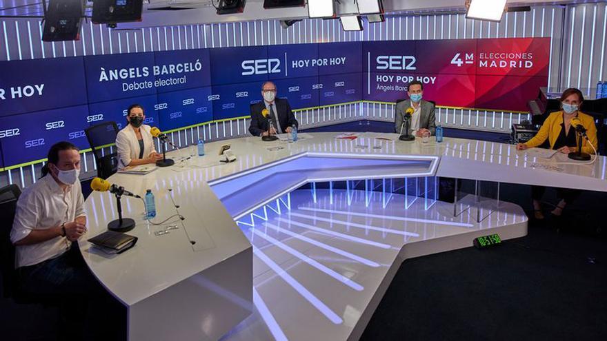 Debate 'interruptus' de las elecciones de Madrid.