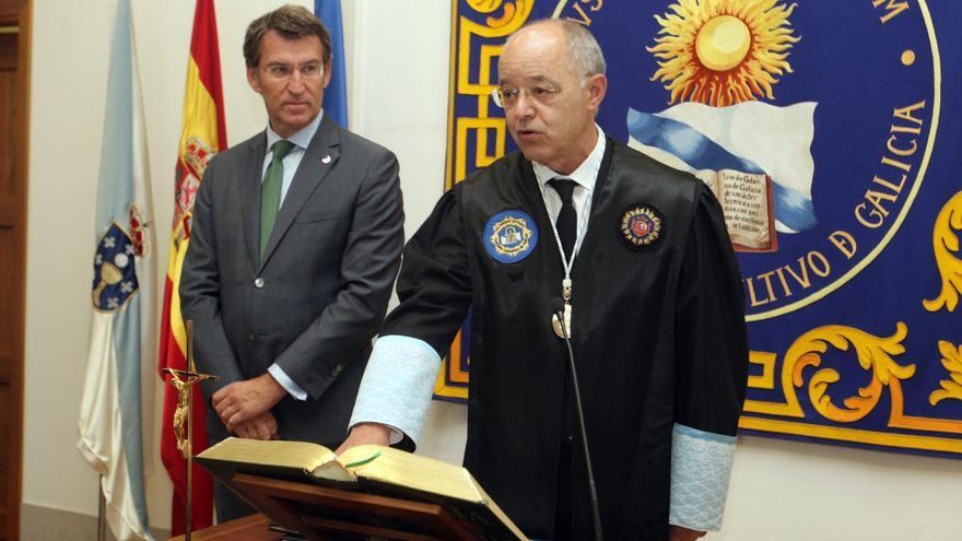 Feijóo y el presidente del Consello Consultivo, en una imagen de archivo
