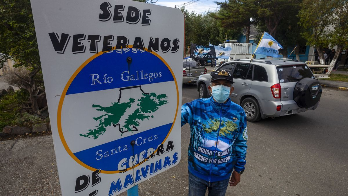 """El Centro de Veteranos de Guerra realizó varias actividades en la """"Vigilia por Malvinas"""""""