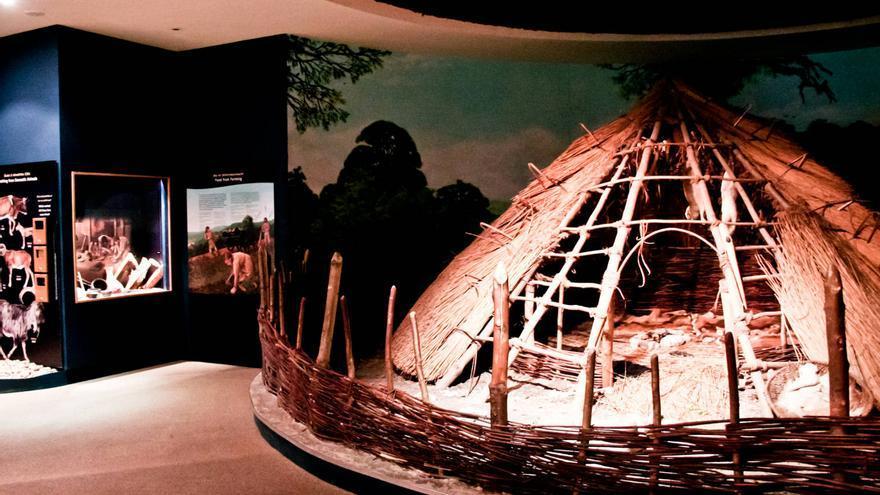 Interior del Centro de Interpretación del Valle del Boyne. VIAJAR AHORA