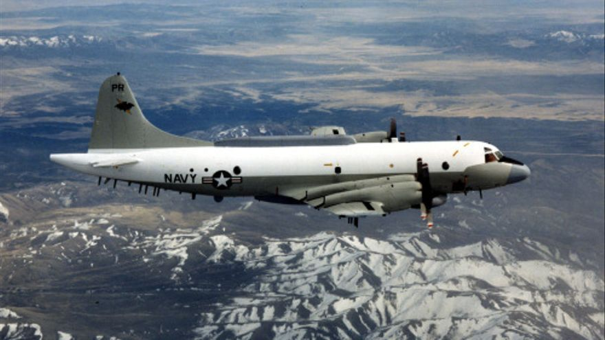 P3-B Orion de la US Navy