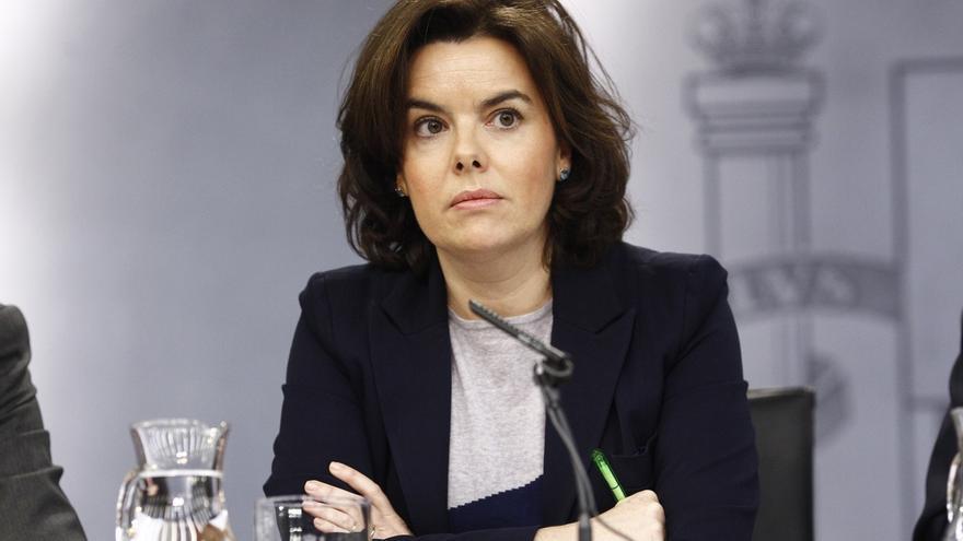 """Santamaría cree que el Gobierno catalán """"no va a ningún lado"""" y que su división es síntoma del fracaso del 'procés'"""