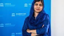 La Premio Nobel de la Paz en 2014, Malala Yousafzai.