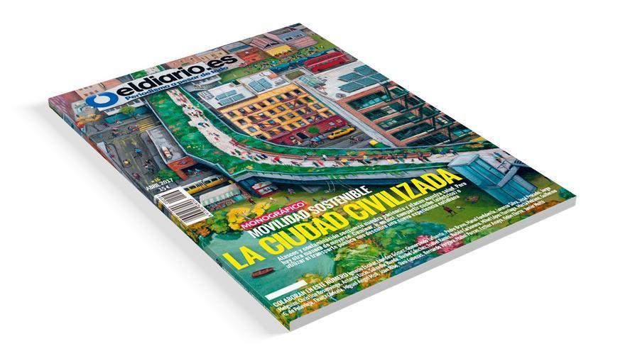 """Revista nº 16 de eldiario.es, """"La ciudad civilizada"""""""