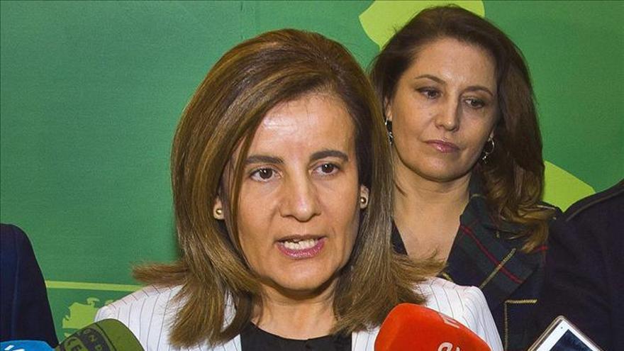 Báñez dice que en 2014 vendrá el crecimiento económico y la creación de empleo neta