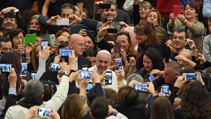 """El papa Francisco pide una vejez """"tranquila y fecunda"""" en su 80 cumpleañosGESU"""