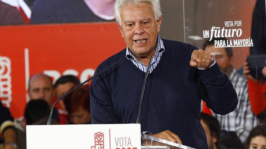 Felipe González: el PSOE tiene que ser otra vez la primera fuerza política
