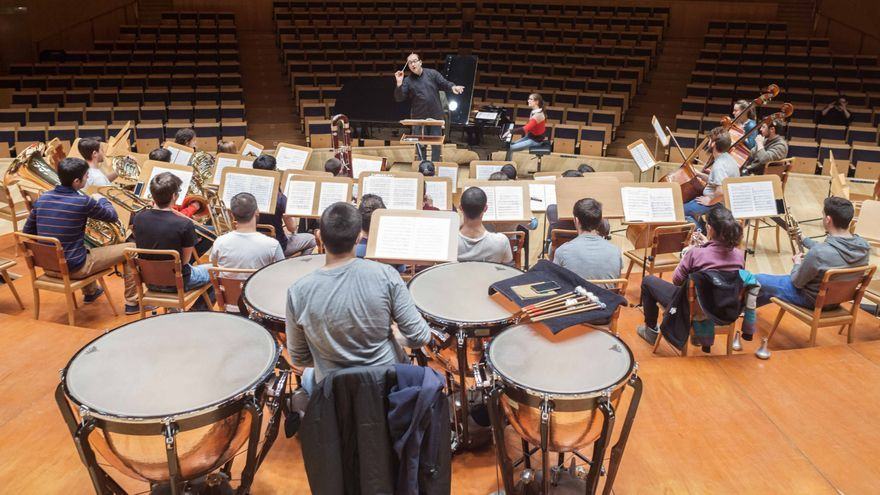 El Conservatorio de Aragón es un referente nacional. Foto: Juan Manzanara
