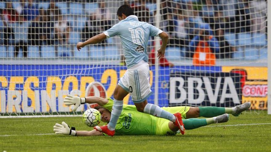 El jugador del Celta de Vigo Nolito. EFE/ Salvador Sas