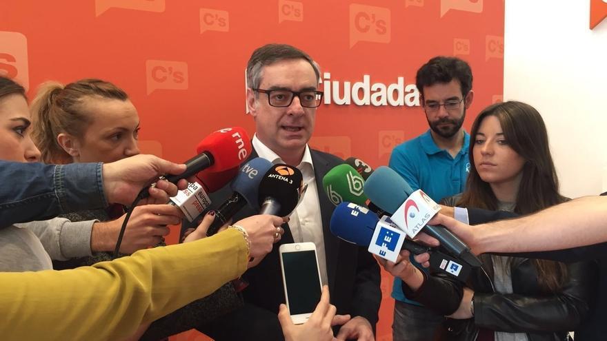 """Ciudadanos llama a Rajoy a """"salir de su escondite"""" para evitar unas nuevas elecciones"""