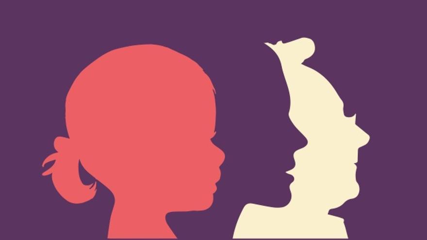 Cartel del paro internacional de mujeres.