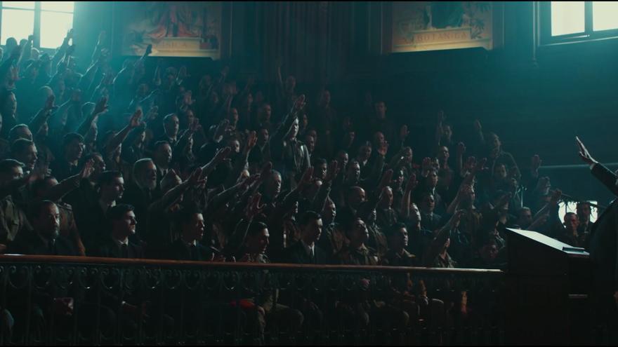 Fotograma de la película 'Mientras dure la guerra'