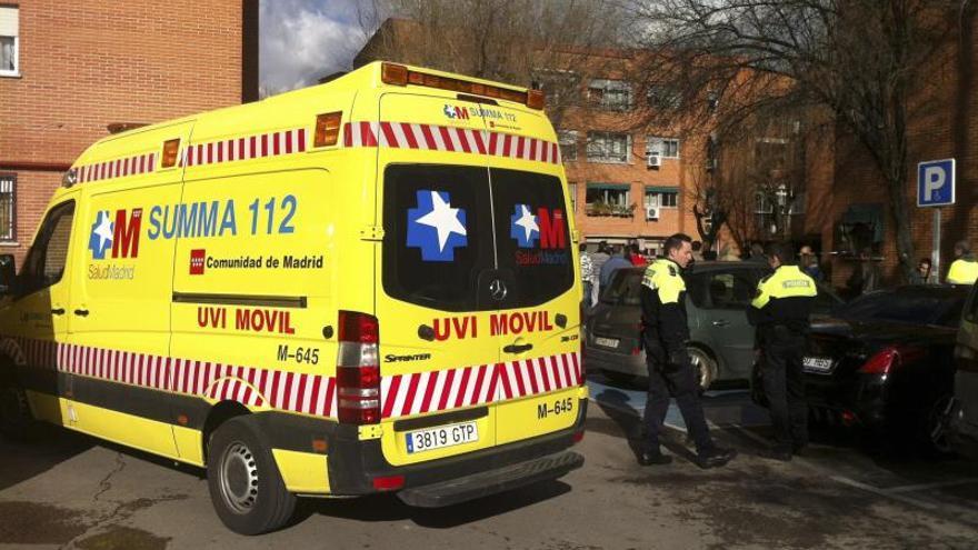 Fallece una niña de 11 años al caerle encima un columpio en Rivas Vaciamadrid