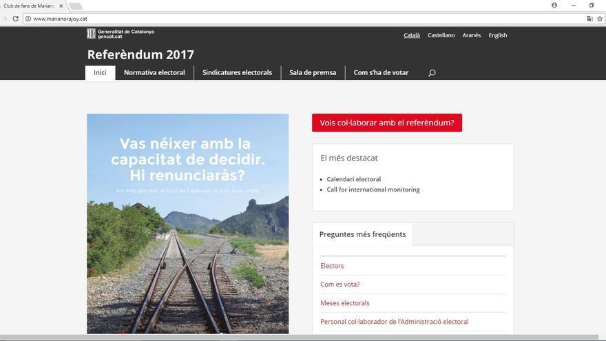 Web www.marianorajoy.cat