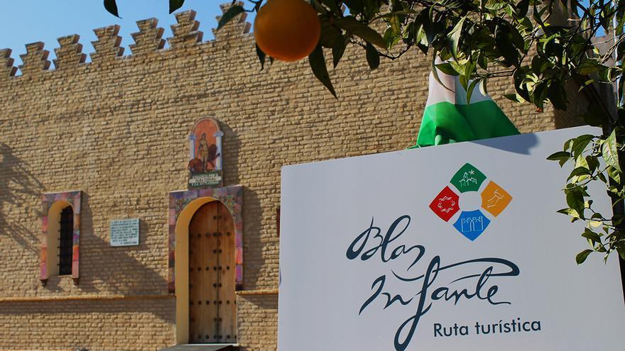 Logo de la ruta infantiana y casa museo de Blas Infante. / Juan Miguel Baquero
