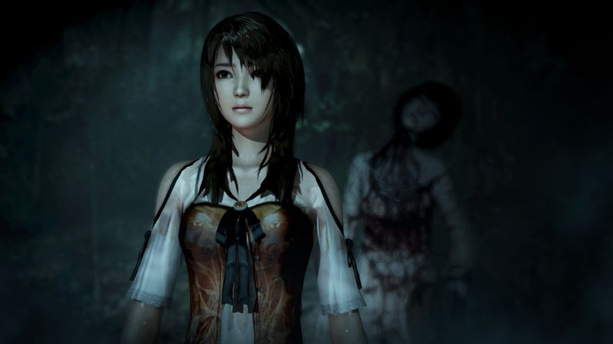 Fatal Frame The Black Haired Shrine Maiden