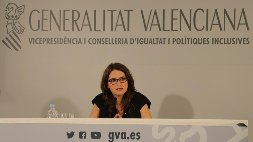 Mónica Oltra, vicepresidenta y consellera de Políticas Inclusivas