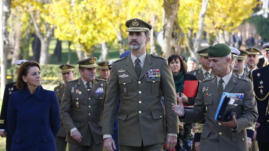 El Rey visita el 'corazón' del mando de operaciones militares