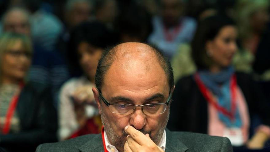 Lambán cree que acuerdos con PSC se deben revisar para recuperar la simetría