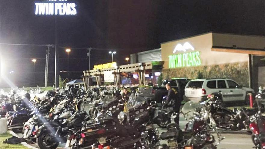 Una banda de motoristas amenaza a la Policía tras el tiroteo de Texas (EEUU)