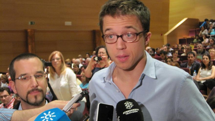 El secretario político de Podemos, Íñigo Errejón, inaugura las jornadas 'Andalucía a por las generales' en Córdoba.