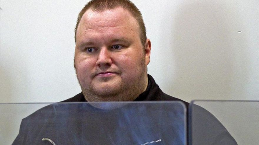 El juicio sobre extradición de Dotcom a EEUU queda visto para sentencia