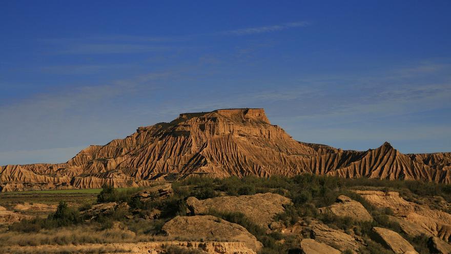 Los colores pardos dominan un paisaje austero pero impactante. Las Barcenas Reales son uno de los parajes más fotogénicos de España. Miguel Ángel García