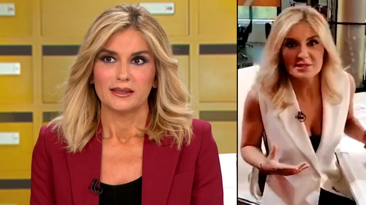 Sandra Golpe resolvió la duda de un espectador de Antena 3 Noticias 1