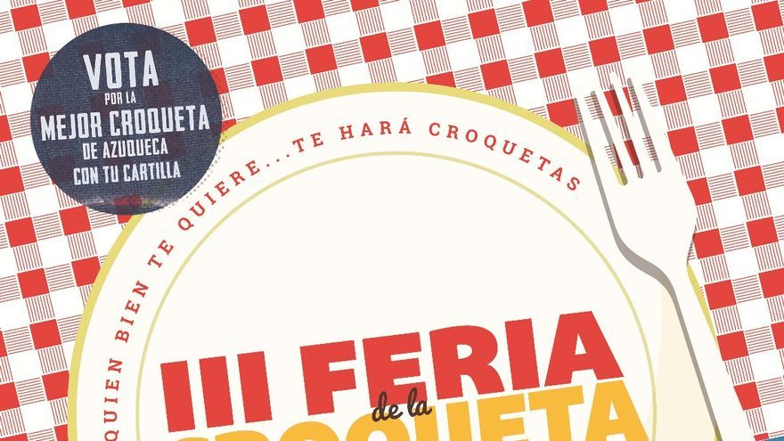 Feria de la croqueta Azuqueca de Henares