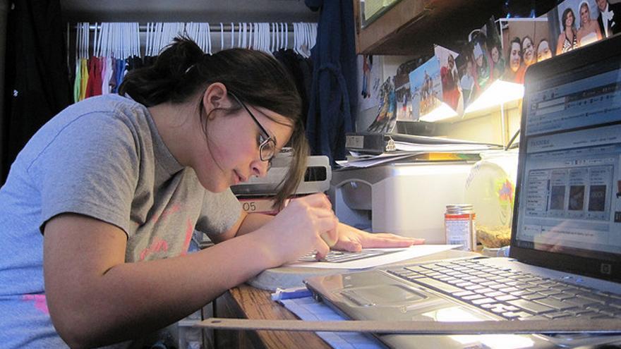 Muchos adolescentes de hoy son capaces de hacer varias cosas a la vez