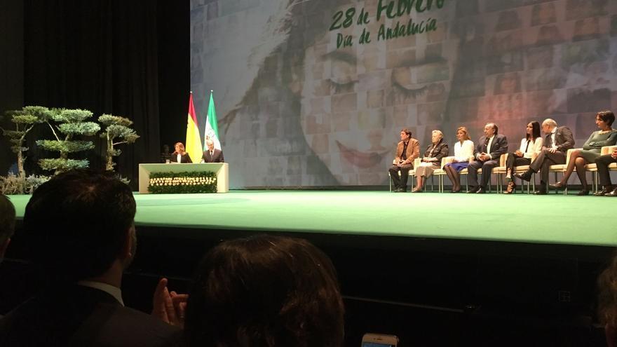 Entrega de los reconocimientos del Día de Andalucía.