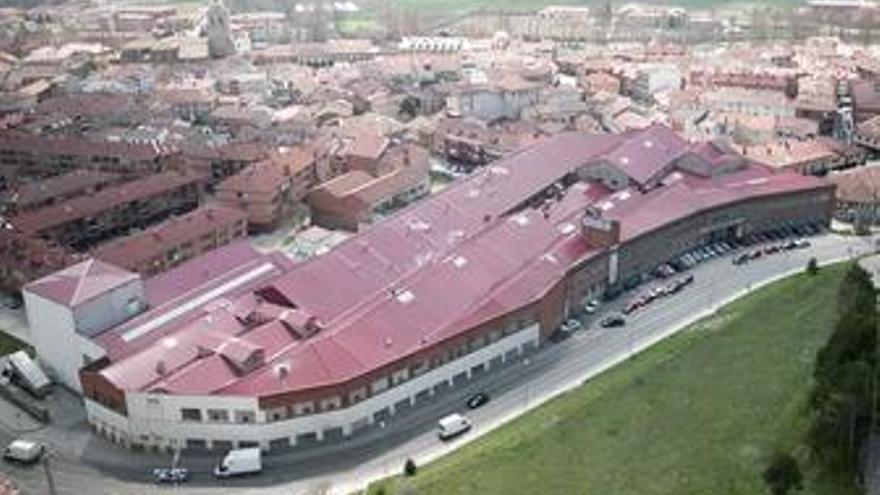 Fábrica de galletas Gullón en Aguilar de Campoo (Palencia)