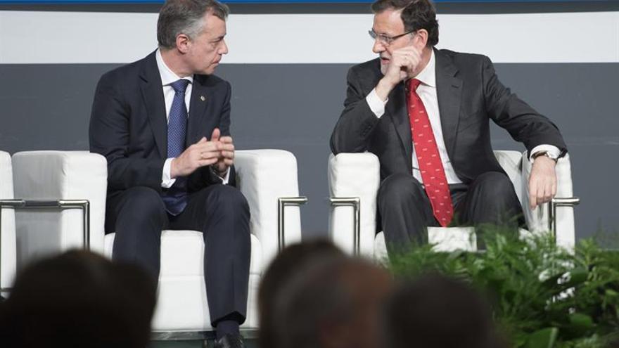 El lehendakari, Iñigo Urkullu, ejerció de mediador entre el Gobierno de Rajoy y la Generalitat