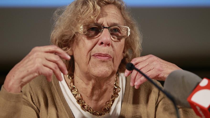 """Carmena pide que nadie la """"malinterprete"""" y pide un gobierno de coalición de PSOE y Podemos"""
