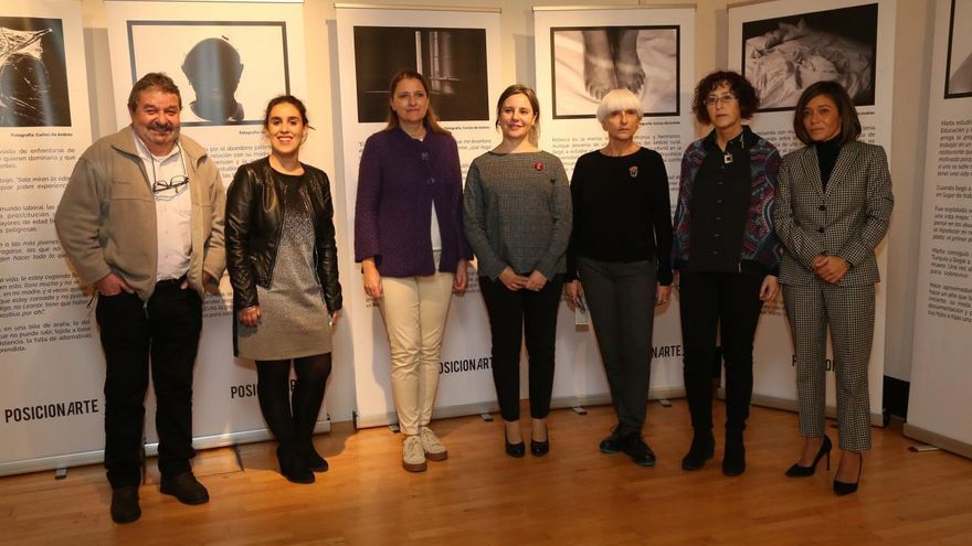 """Inauguración de la exposición """"Posicionarte"""", organizada por Médicos del Mundo Castilla-La Mancha"""