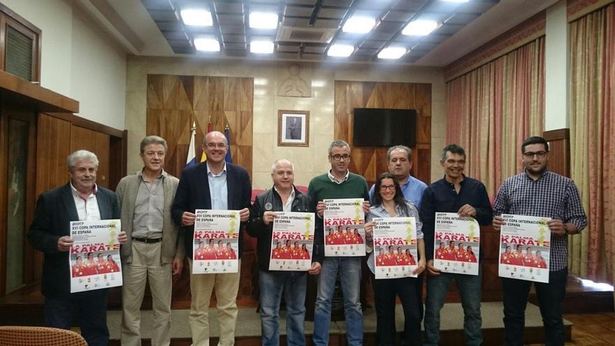 Presentación del cartel de la 'XVI Copa Internacional de España de Kárate' se disputará en La Palma.