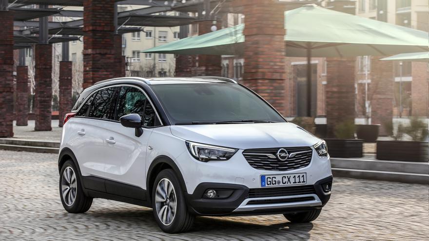 Opel Crossland X, el diseño de un crossover entre monovolumen y SUV.