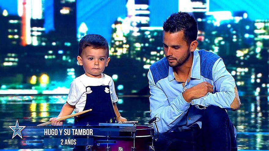 El pequeño Hugo en 'Got Talent'