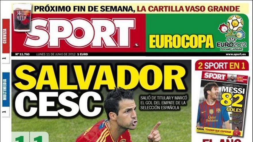 De las portadas del día (11/06/2012) #15