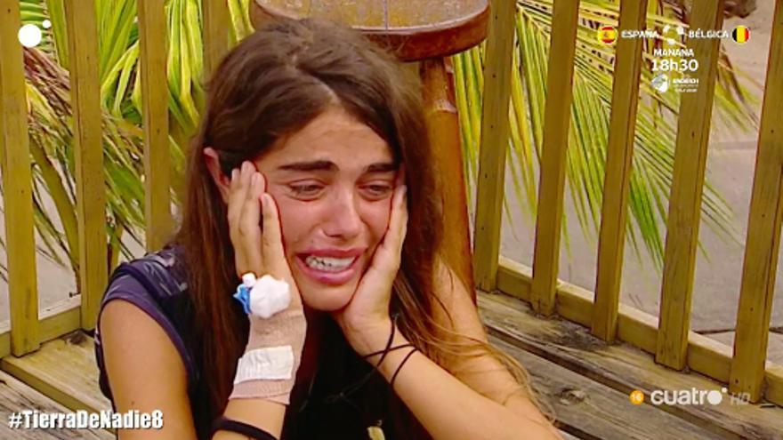 'Supervivientes' obliga a Violeta a abandonar por motivos de salud pero deja dos puertas abiertas
