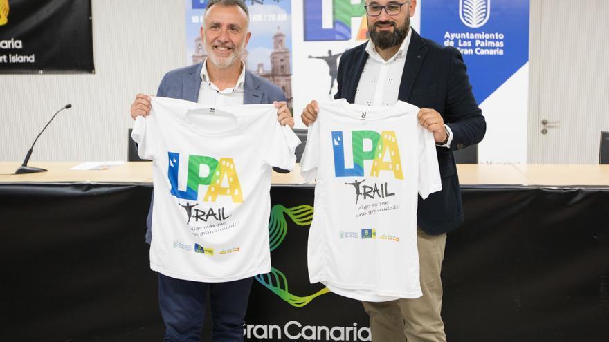 El consejero de Deportes del Cabildo de Gran Canaria, Ángel Víctor Torrres y el concejal de Deportes del Ayuntamiento de Las Palmas de Gran Canaria.