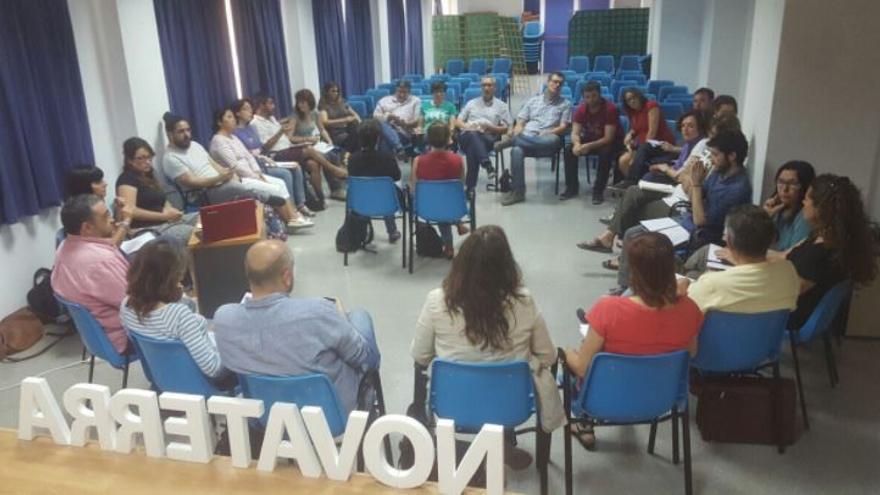 Reunión del Consejo Ciudadano de Podemos en Paterna