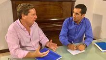 Reunión de Gabriel Mato y Borja Pérez.