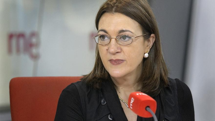 Soraya Rodríguez no valora los pitos a la Monarquía y dice que el pacto constitucional supuso renuncias para todos