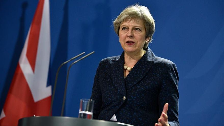 May defiende un acuerdo de seguridad post-brexit entre Reino Unido y la UE
