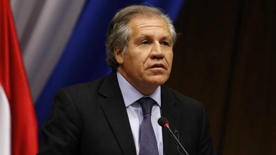 """Almagro """"invita"""" al Congreso de EEUU a """"reconsiderar"""" la """"Nica Act"""""""