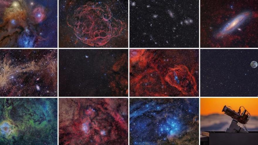 El Paso acoge la exposición astrofotográfica '100 lunas cuadradas' del IAC dentro de Astrofest