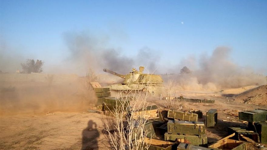 Drones estadounidenses bombardean posiciones yihadistas en el sur de Libia