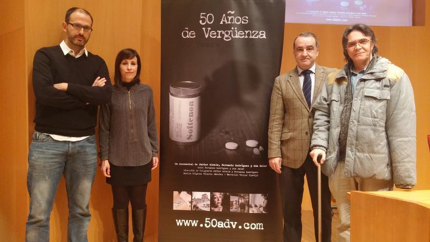 Presentación del documental '50 años de vergüenza' en Bilbao.